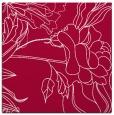 rug #887971 | square red natural rug