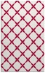 rug #887979 |  red traditional rug