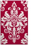 rug #888139 |  red traditional rug
