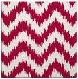 rug #888316 | square red stripes rug
