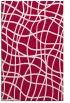 rug #888424 |  red check rug