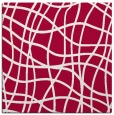 rug #888436 | square red check rug