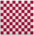 rug #888456 | square red check rug