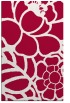 rug #888464 |  red graphic rug