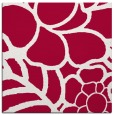 rug #888476 | square red graphic rug