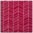 rug #888576 | square red natural rug