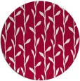 rug #888588 | round red natural rug