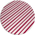 rug #888608 | round red rug