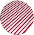rug #888608 | round red retro rug