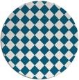 rug #888630   round check rug