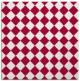 rug #888636 | square red check rug