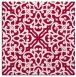 rug #888856 | square red traditional rug