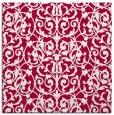 rug #889176 | square red natural rug
