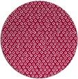 rug #889248 | round red animal rug