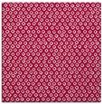 rug #889256 | square red popular rug