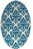 rug #889323 | oval traditional rug
