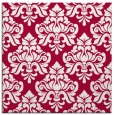 rug #889336 | square red traditional rug