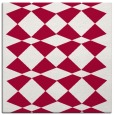 rug #889356 | square red check rug