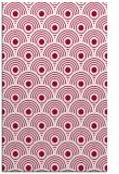 rug #889364 |  red circles rug