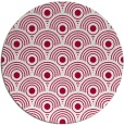 rug #889368 | round red retro rug