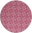 rug #889508 | round red circles rug