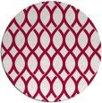 rug #889688   round red circles rug