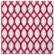 rug #889696 | square red circles rug
