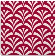 rug #889796 | square red graphic rug