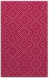 rug #889864 |  red traditional rug