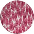 rug #889928 | round red natural rug