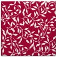 rug #889956 | square red natural rug
