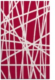 rug #889964    red abstract rug