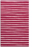 rug #889984 |  red stripes rug