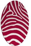 rug #890041 | oval stripes rug