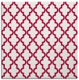 rug #890176 | square red traditional rug