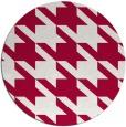 rug #890268 | round red retro rug