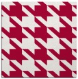 rug #890276 | square red retro rug