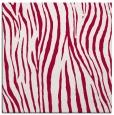 rug #890296 | square red animal rug