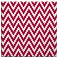rug #890376 | square red retro rug