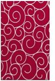 rug #890504 |  red circles rug