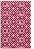 rug #890824 |  red geometry rug