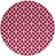 rug #890828   round red circles rug