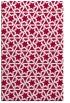 rug #890884 |  red geometry rug