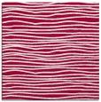 rug #890916 | square red stripes rug
