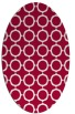 rug #890920   oval red circles rug