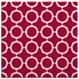 rug #890936   square red circles rug