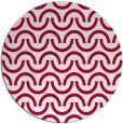 rug #891069 | round graphic rug