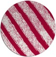 rug #891148 | round red stripes rug