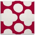 rug #891296   square red circles rug