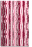 rug #891404 |  red stripes rug